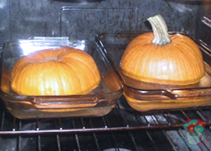 pumpkin-in-oven
