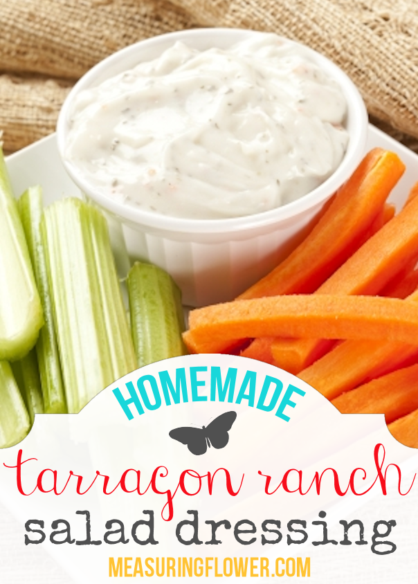 homemade-tarragon-ranch-salad-dressing