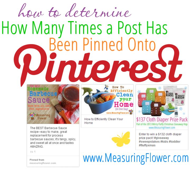How to Determine How Many Times a Blog Post Has Been Pinned Onto Pinterest