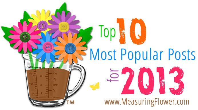 top 10 most popular posts for 2013