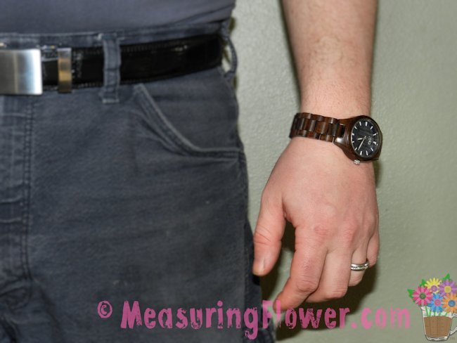 The Mister really loves his wooden JORD wrist watch. It sturdy and looks sharp.