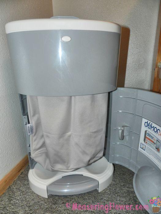 D kor plus kolor diaper pail review measuring flower for Dekor plus diaper pail