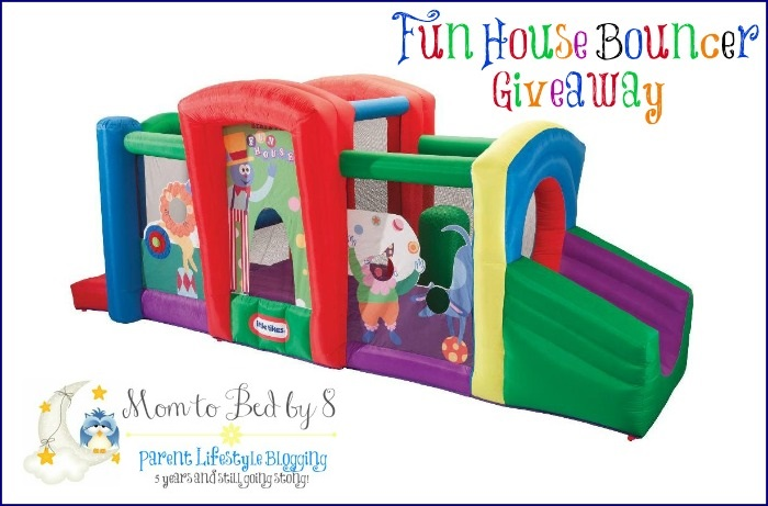 $300 Little Tikes Fun House Bouncer Giveaway {CLOSED} - Measuring Flower