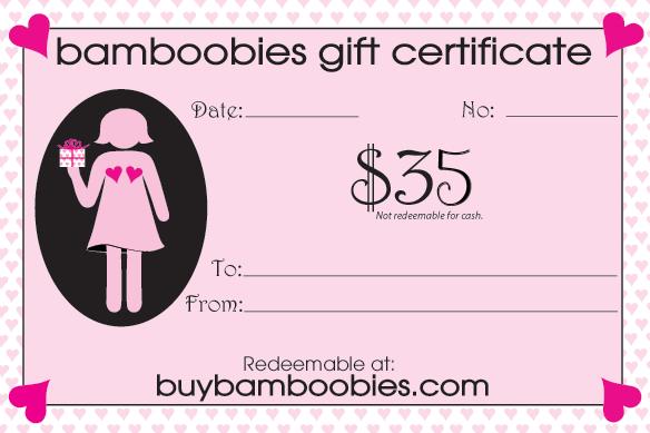 bamboobies prize