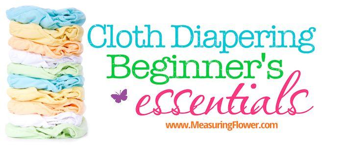 Cloth Diapering Beginners Essentials_MeasuringFlower.com