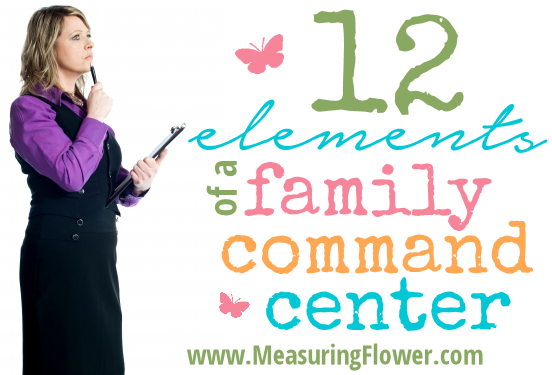 12 Elements of a Family Command Center