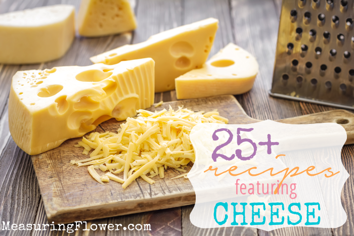 25 Plus Recipes Featuring Cheese