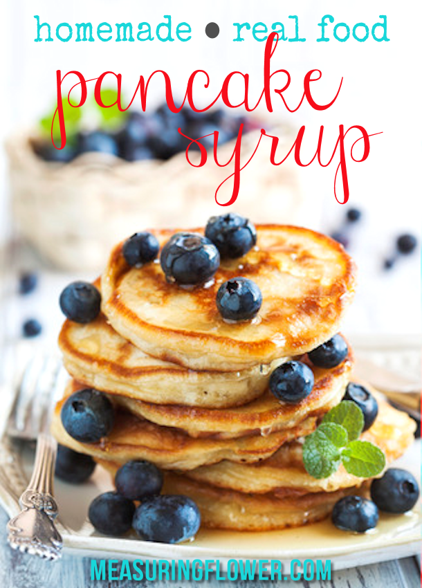Homemade Real Food Pancake Syrup