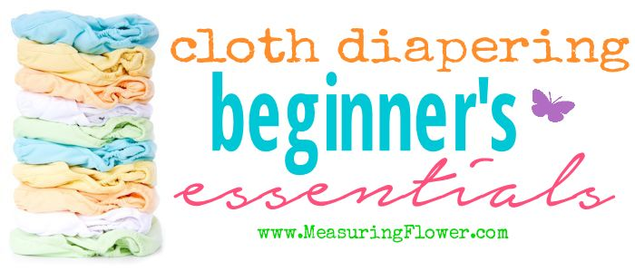 Cloth Diapering Beginners Essentials_MeasuringFlower.com