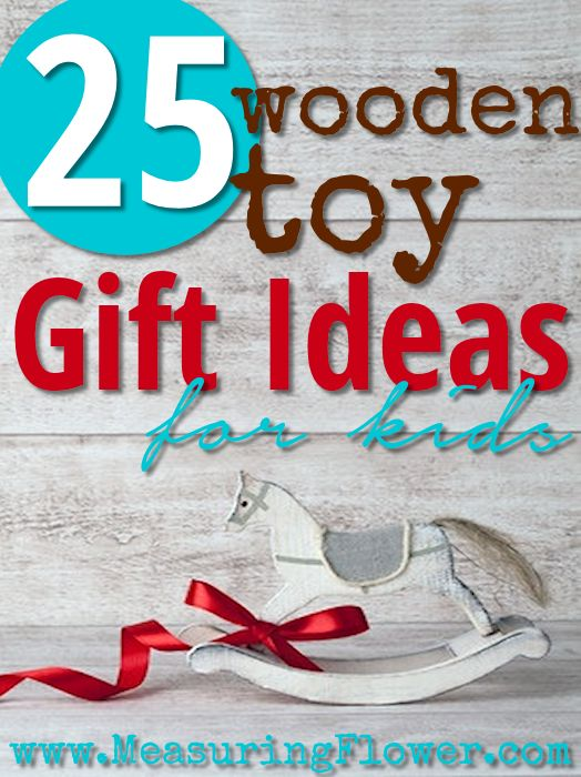 25 Wooden Toy Ideas