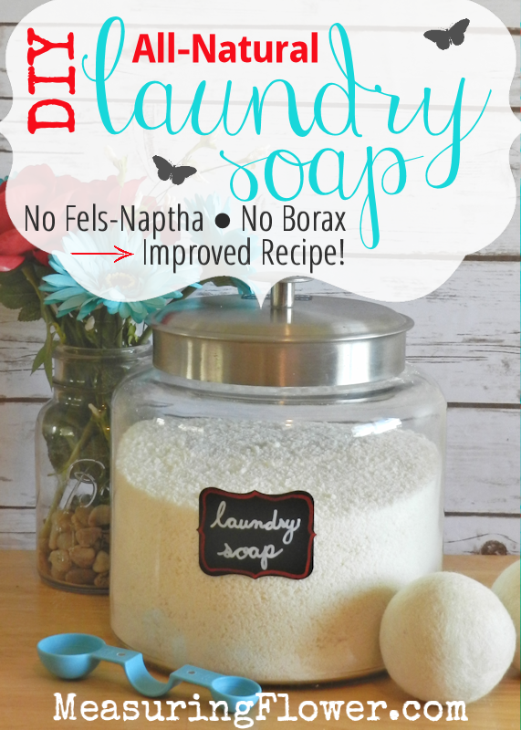 Diy Laundry Soap Fels Naptha And Borax Free Improved Recipe