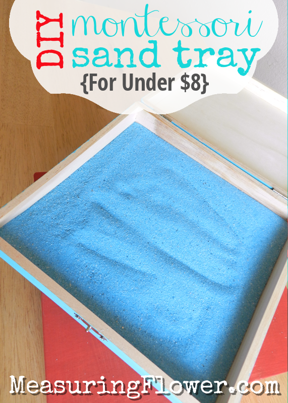 DIY Montessori Sand Tray