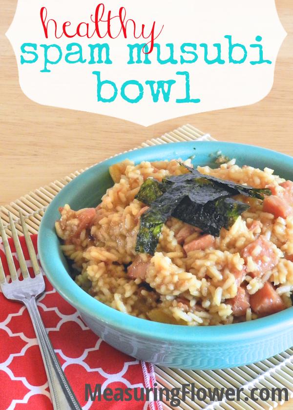 Healthy Spam Musubi Bowl