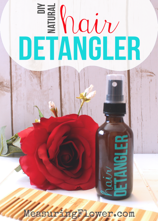 DIY All-natural Hair Detangler