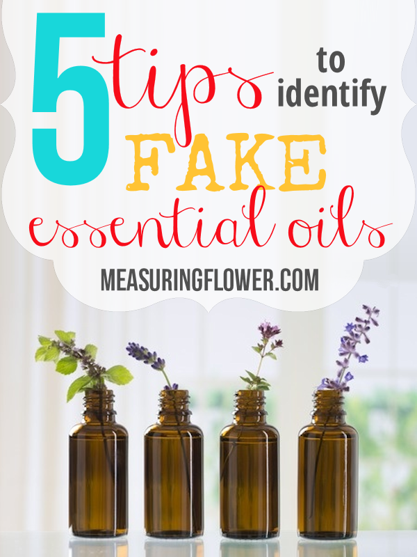 5 Tips to Identify Fake Essential Oils