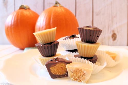 Pumpkin Pie Candy Cups